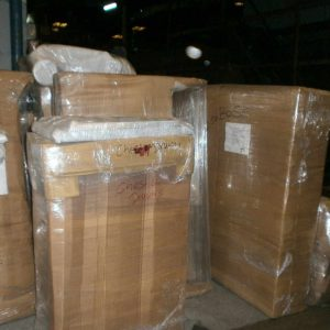 Items Packed And Padded For Shipping